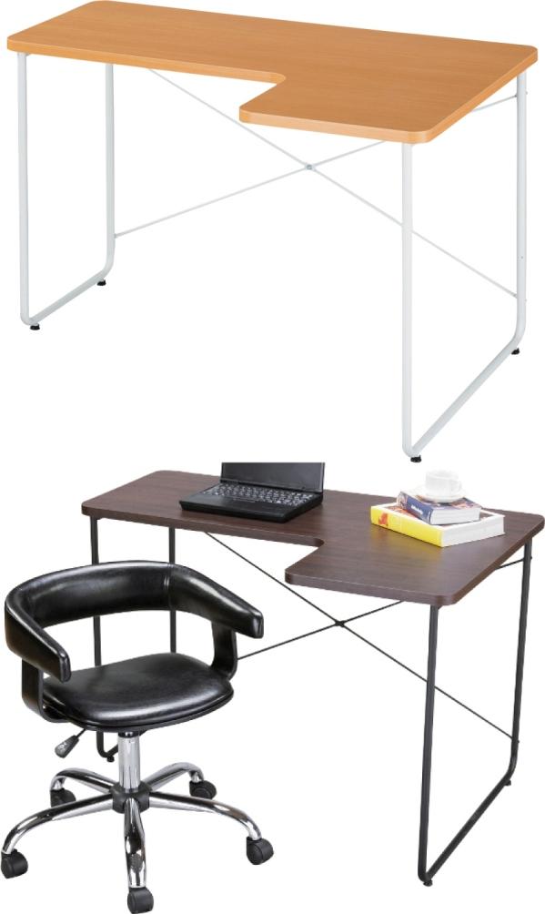 L型デスク(テーブル)PT-526/2カラー