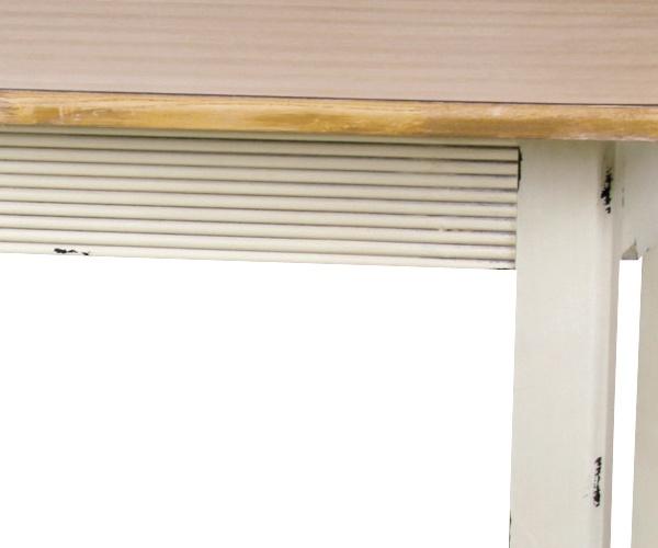【フレンチアンティークBlossomシリーズ】ダイニングテーブル