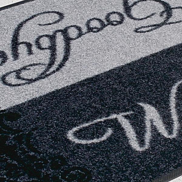 洗えるおしゃれなデザインマット「wash&dry」